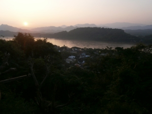 Luang Prabang, Mount Phousi